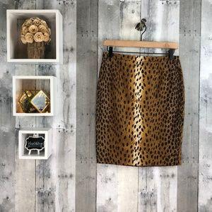 Michael Kors | Cheetah Print Pencil Skirt